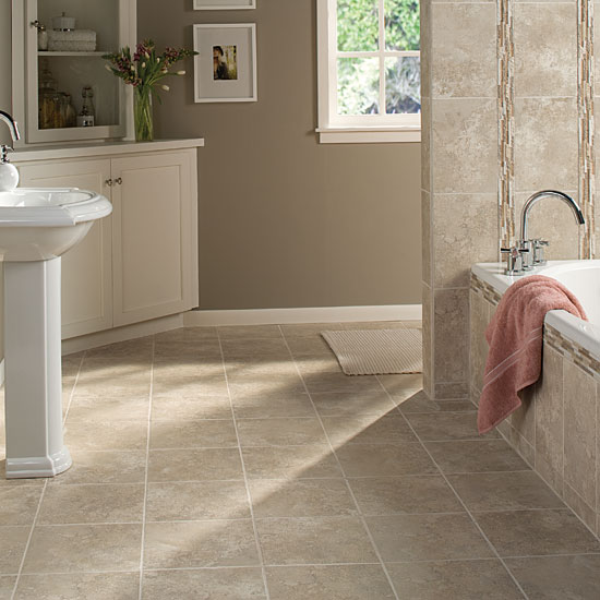 Tile Application: Your Bathroom | Take the Floor
