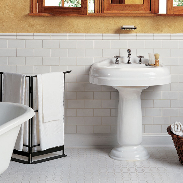 Tile Application Your Bathroom Take The Floor