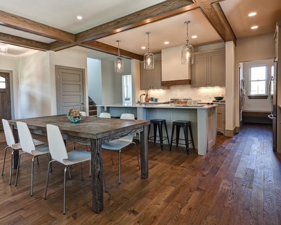 beautiful-traditional-dining-room-design-ideas-with-wood-dining-table-ideas-and-white-chairs-ideas-also-beautiful-hardwood-floors-colors-design-ideas-dining-room-lighting-ideas-and-dining-room-decor-i