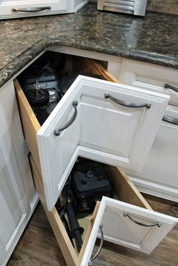organized-cabinets-wellborn-corner-drawer